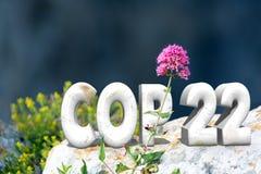 COP 22 royalty-vrije stock afbeelding