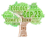 COP 23 in Bonn Royalty Free Stock Photos
