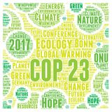 COP 23 in Bonn, Germany Royalty Free Stock Photos