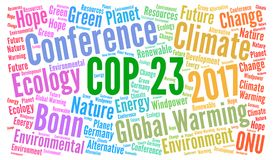 COP 23 in Bonn, Germany Stock Images
