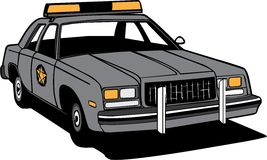 Cop Car Stock Photography