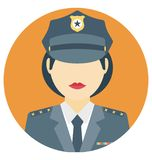 Cop Color Isolated Vector Icon that easily can be modified and edit. vector illustration