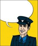 Cop d'art de bruit illustration libre de droits