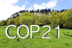 COP21 i Paris Royaltyfri Bild