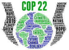 COP 22 in Marrakesh, Morocco Stock Photography