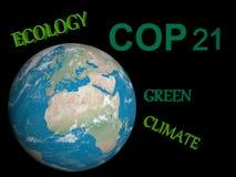 COP21 in Paris - 3d render Royalty Free Stock Photo