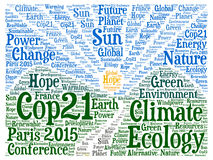 COP21 in Paris Stock Photography