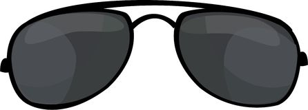 Cop Sunglasses Royalty Free Stock Photo