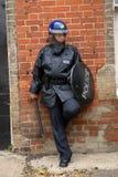Cop van de rel stock fotografie
