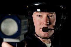 Cop van het verkeer Stock Fotografie