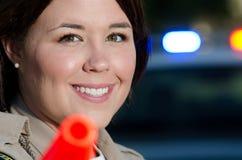 Cop van het verkeer Royalty-vrije Stock Afbeeldingen
