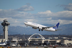 Copa航空公司波音737-86N 免版税库存照片