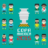 Copa Америка 2015 Стоковые Фото