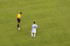 Copa America 2016 between Argentina and Venezuela Royalty Free Stock Image
