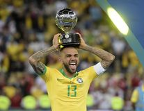 Copa America Brazil 2019 royalty free stock photography