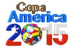 Copa America 2015 concept Stock Photo
