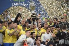 Copa America Brazil 2019 stock photos
