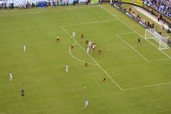 Copa Ameryka 2016 między Argentyna i Wenezuela Fotografia Royalty Free