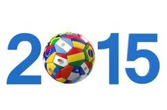 Copa Ameryka 2015 pojęcie Zdjęcie Stock