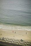 copa cabana пляжа Стоковые Изображения RF