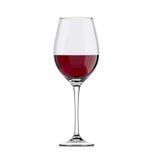 Copa con el vino Fotos de archivo