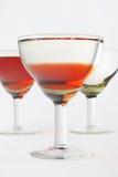 copa de la Aún-vida con la bebida Imagen de archivo