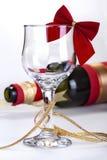 Copa de vino adornada Imagen de archivo