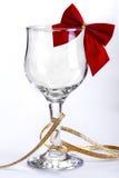 Copa de vino adornada Imagenes de archivo