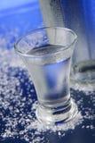Copa de vodka imagen de archivo