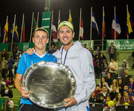 Copa Del Café - norwegisches Tennis Junior Casper Ruud Lizenzfreie Stockfotos