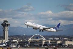 Copa flygbolag Boeing 737-86N Royaltyfri Foto