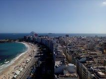 Copacabana海滩 库存照片