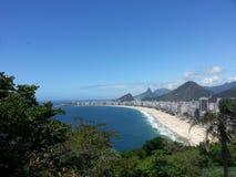 Copacabana海滩 免版税库存照片
