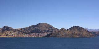 Copacabana στη λίμνη Titicaca, Βολιβία Στοκ Φωτογραφία