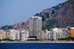 Copacabana στο Ρίο ντε Τζανέιρο στοκ φωτογραφία