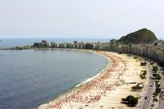 copacabana пляжа Стоковые Фото