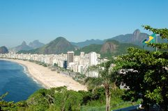 Copacabana Stockfoto