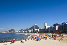 Copacabana stock image