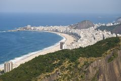 Copacabana Royalty Free Stock Photo