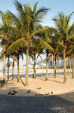 Copacabana. Beach royalty free stock photography