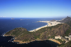 Copacabana beach Royalty Free Stock Images