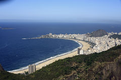Copacabana beach Royalty Free Stock Photography