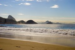 Copacabana Beach Stock Image