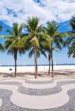 Copacabana beach. Rio de Janeiro Royalty Free Stock Photo