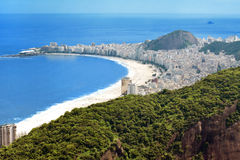Copacabana Beach, Rio Stock Image