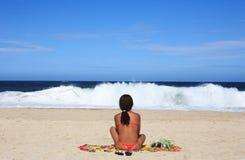 Copacabana beach Royalty Free Stock Images