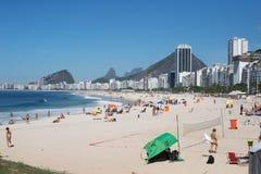 Copacabana Beach Royalty Free Stock Photography