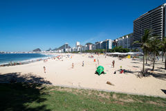 Copacabana Beach Royalty Free Stock Photo