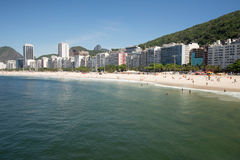 Copacabana Beach Stock Image