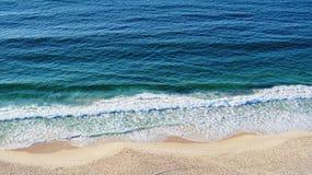Copacabana Beach Sea Waves Rio De Janeiro Brazil Royalty Free Stock Photo